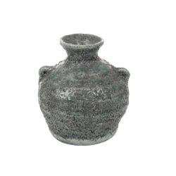 Grå rustik vase