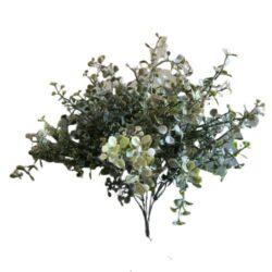 Naturtro grøn busket kunstig plante