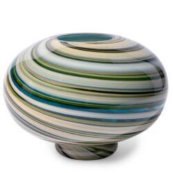 Twirl glasvase i grøn