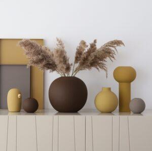 Keramikvaser i skønne farver
