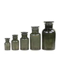 Franske apoteker glas - sæt a 5 stk