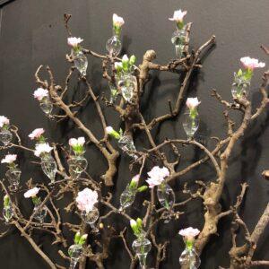 Glasvaser med klemme til gren fra Birch Nielsen