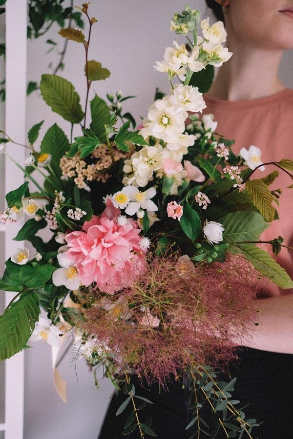 Mors-dags-blomster-buketter