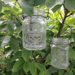 Glaslanterner til bord eller gren - Brugskunst, Lysestager og lanterner, Udelivet, Lanterner -