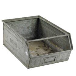 Vintage zink kasser fra B-green by Callapor - Brugskunst, Nips til hjemmet, Udelivet, Havetilbehør - B-Green By Callapor