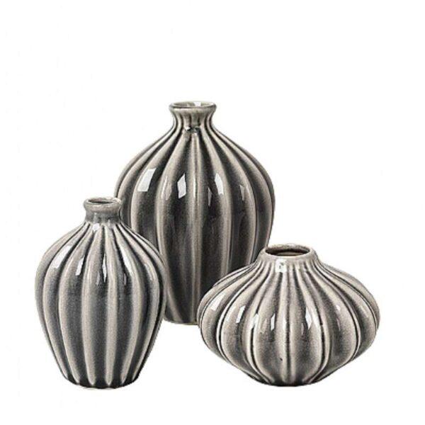 Amalie vasesæt  i keramik - Nyheder, Brugskunst, Vaser - Broste Copenhagen
