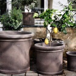 Cilindro udendørs krukke - Produkter, Nyheder, Udelivet, Havekrukker - Bergs Potter