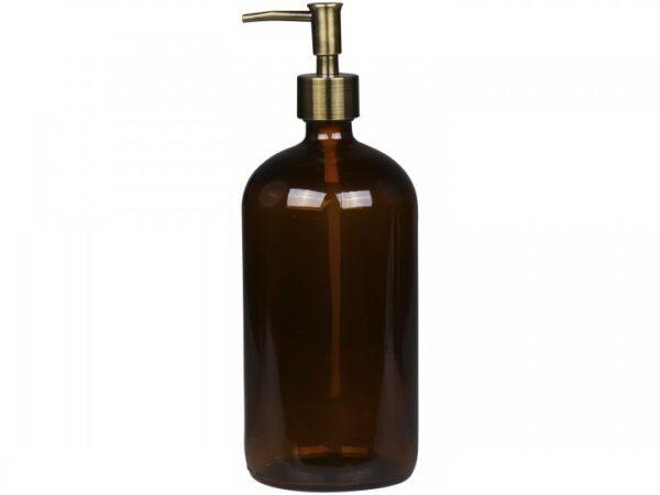 Brun-glasflaske-med-pumpe