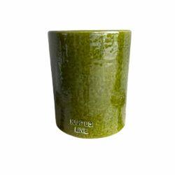 Cylinder krukke Birch Nielsen Model Kaktus i grøn